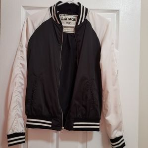 Jackets & Blazers - Garage Windbreaker Varsity Jacket